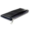 キラ Lファスナー薄型長財布