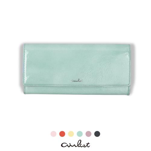 軽い財布エアリストのバレエ薄型長財布