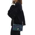 軽くて薄い財布airlistエアリストとミュベールコラボのミュゲシリーズマルチウォレットショルダーバッグ